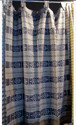 Door Drape Window Decor Silk Curtain