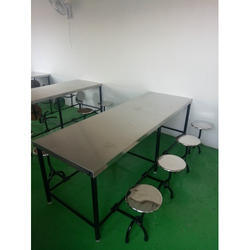 8 Seater Canteen Table