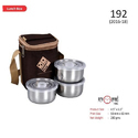 3 Containers Stainless Steel Lunch Box