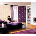Vinyl Purple Wall Covering