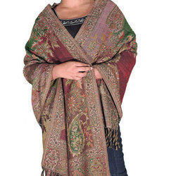 Ladies Designer Wool Shawl