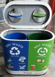 Color Coded Duo Dustbin