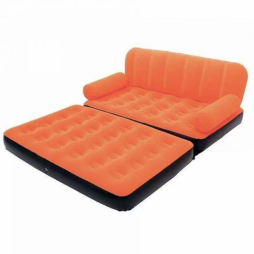 3 Seater Velvet Air Sofa Cum Bed at Rs 4199 piece Laxmi Nagar