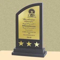 PI 18-318 Wooden Trophy