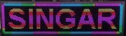 Multi Colour LED Moving Display / Board, Dimension: 1x4 Feet
