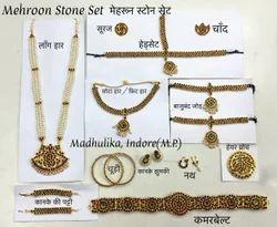 Bharatnatyam Jewellery Set