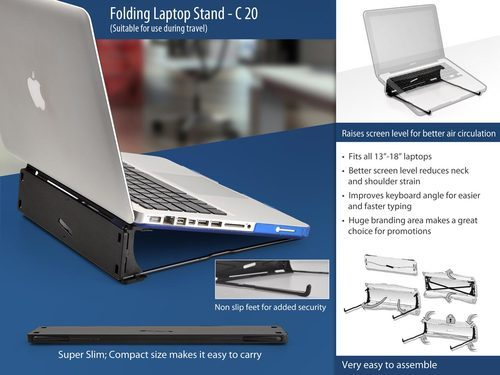 Power Plus Folding Laptop Stand At Rs 99 Piece