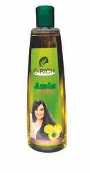 Amla, Vit E and C O-RICH Amla Hair Oil 200ml, For Personal, Liquid