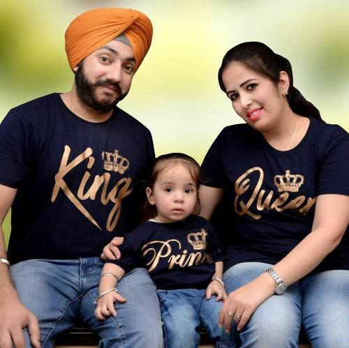 8a2e6fc2b0 Girls Couple Or Family Or Funny T- Shirt, Rs 500 /piece, Sardar ...