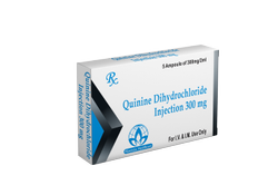 Quinine Dihydrochloride Injection 300mg