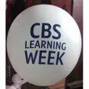 CBS Advertising Printed Balloon