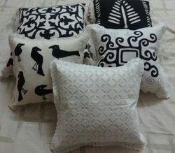 Crosia work Rectangular cushion cover