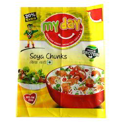 Soya Chunks Packaging Pouch