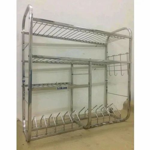 Stainless Steel Kitchen Rack For Home Rs 160 Kilogram Hello Bucket Id 20736647762