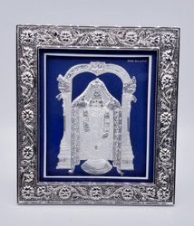Silver Balaji Frame