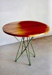 Metal IRON TABLE, Size: 30*30*30