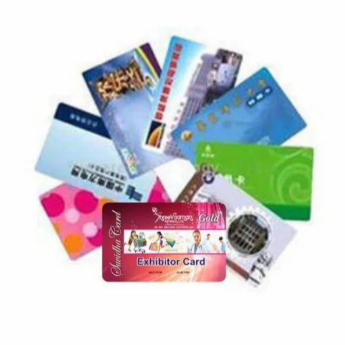 Plastic Exhibitor Cards