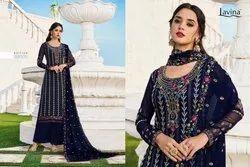 Lavina Vol 99 Georgette Embroidery Salwar Kameez And Suits Designs