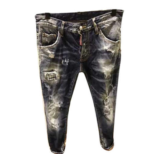 f0da61bc4 Denim Trendy Ripped Jeans, Rs 550 /piece, Farhat Garment | ID ...