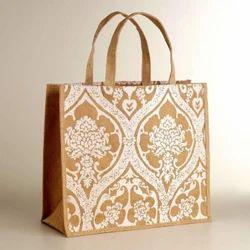 Printed Jute Carry Bags