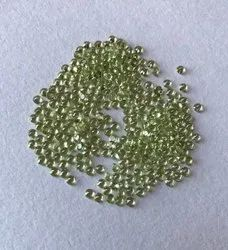 Peridot Faceted