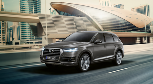 DHIYAA CARS PRIVATE LIMITED - Retail Showroom of Audi Q7 Car
