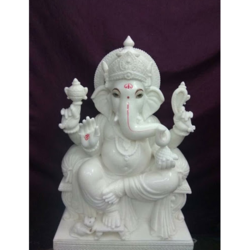 Exclusive Marble Ganesh Statue