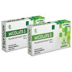 Mycophenolate Sodium Tablets 180mg/360mg
