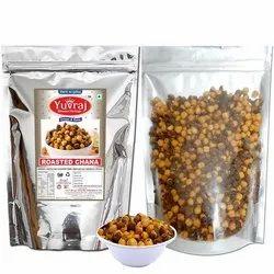 Bikaner Pouch Yuvraj food Roasted Black Channa Crackers