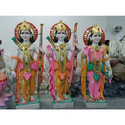 Multicolor Ram Darbar Statue
