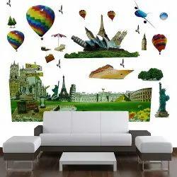 PVC 5D Wall Sticker