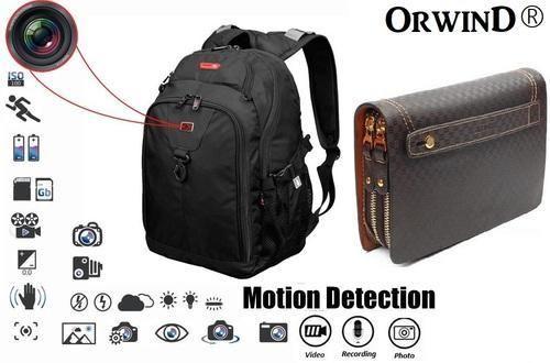 Spy Bag Camera Hidden at Rs 5500 /piece | Spy Camera | ID: 15927590912