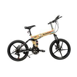 GOGOA1 Rockefeller City Bicycle with Folding High Carbon Steel Frame and 20 INCH Magnesium wheels