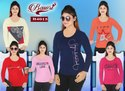 Bawri Round Ladies Full Sleeve T Shirt
