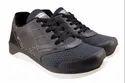 Formal Black Grey Air Zone 7341 Mens Shoes