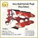Heavy Model Hydraulic Plough, Operating Weight: 5000 Kg