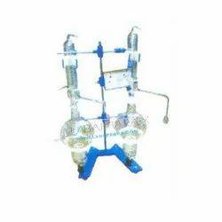 Borosilicate Glass Labappara Distillation Apparatus With Borosilicate, For Laboratory, Model Number: Lab-913