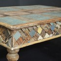 Indian Reclaimed Wood Rectangle Coffee Table