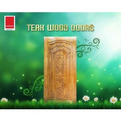 Laminated Teak Wood Door, For Home, Hotel etc