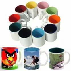 Sublimation Inner Color Mugs
