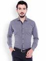 Blue Full Sleeve Mens Formal Shirts