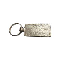 Rectangular Metal Keychain