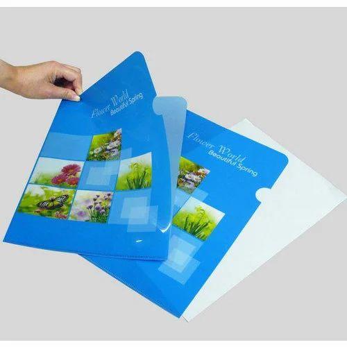 Plastic L Folder Printing Service