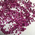 Natural Old Burma Ruby Gemstone Faceted Oval Pear Stone