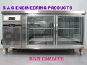 Stainless Steel Bar Chiller with Glass