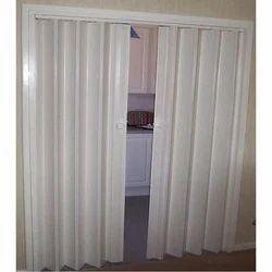 White PVC Partition Door