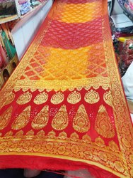 Heavy Banarasi Bandhej Saree