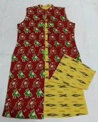 Reversible Cotton Long Jackets