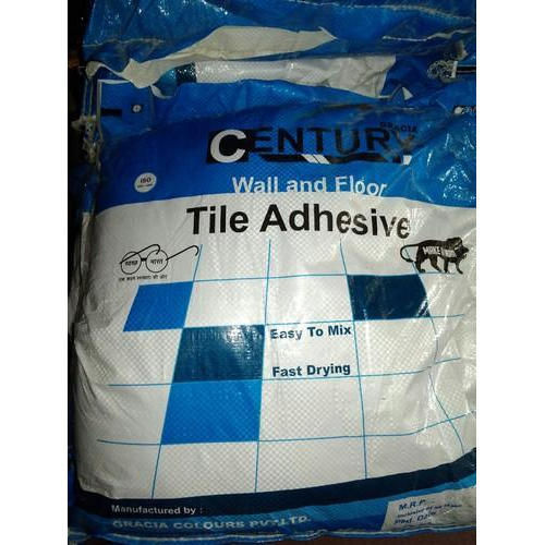 Century Tile Adhesive Wall And Floor Rs Bag Goods Trading CO - Fast drying tile adhesive