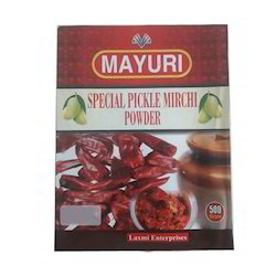 Special Pickle Mirchi Powder, Packets